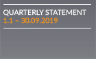 Quarterly statement as of 30.09.2019